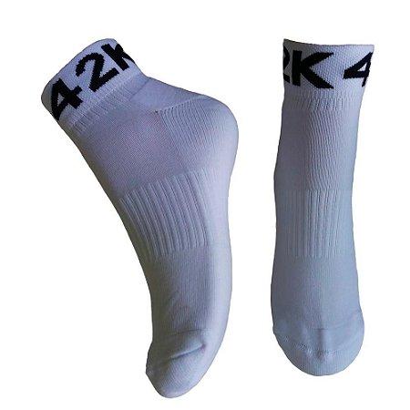 Meia 42K Soquete Branca em Poliamida (Tamanho Único: 35 a 43)
