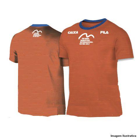 Camiseta Meia Maratona Internacional do Rio 2017 - Mescla Grená