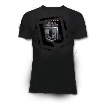 Camiseta Liga da Justiça Masculina - Produto Oficial Yescom | DC Runseries