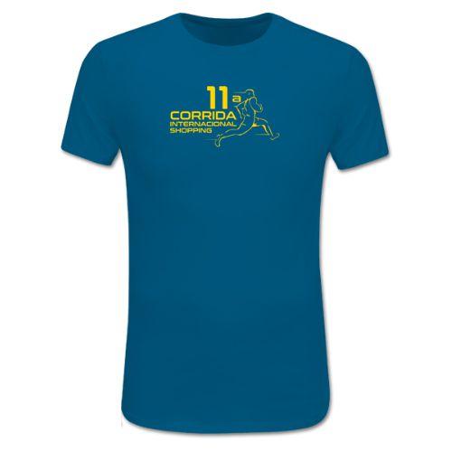 Camiseta Corrida Internacional Shopping Azul