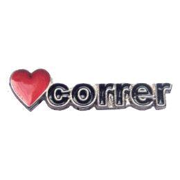 Pin Button S2 CORRER resinado ( 1 cm x 3,3 cm )