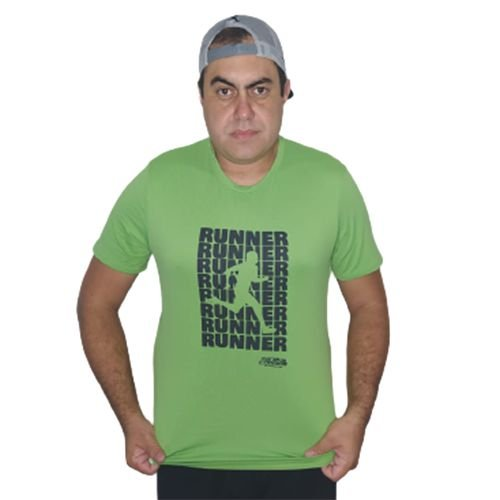 Lançamento: Camiseta RUNNER Mania de Corrida Verde