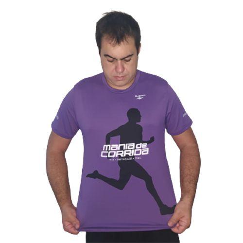Lançamento: Camiseta Mania de Corrida Roxa