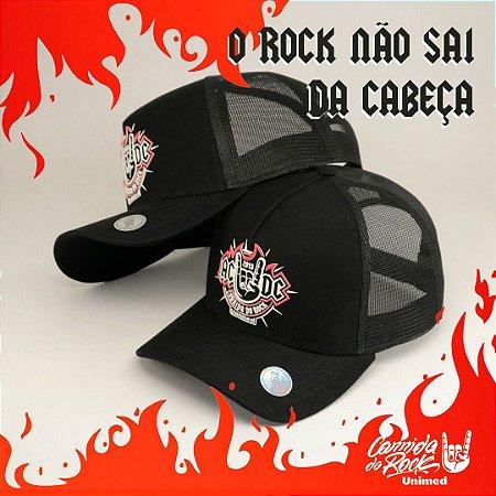 Boné ACDC Corrida do Rock