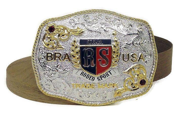 Fivela Rodeo Sport BRA USA