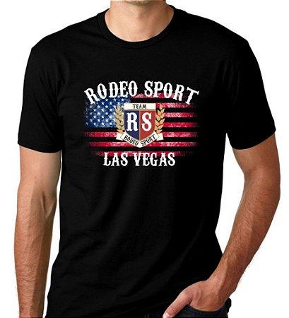 Camiseta Rodeo Sport Las Vegas Preta