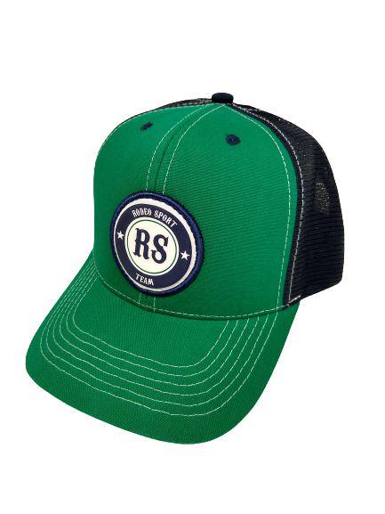 Boné Rodeo Sport RS Team Verde e Azul Marinho Tela