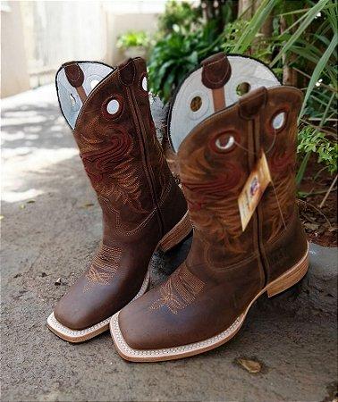 Rodeo Sport Boot cano Marrom