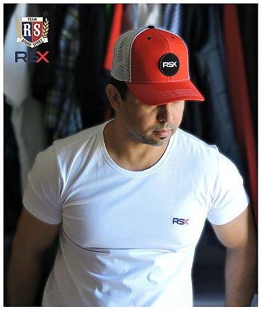 Camiseta Rodeo Sport RSX Básica Branca