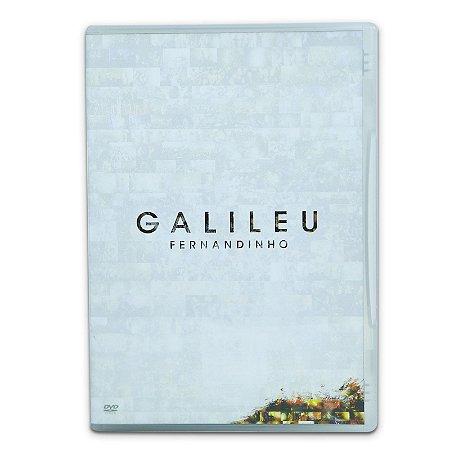 DVD Fernandinho - Galileu