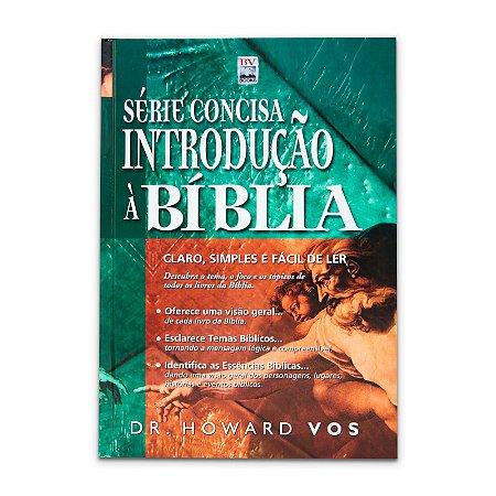 Série Concisa Introdução Á Bíblica