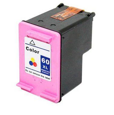 Cartucho de Tinta HP Colorido Compatível HP 60XL CC640WB CC641WL