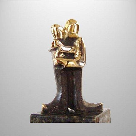 ¨União¨- escultura de bronze - 11 cm ($360,00)