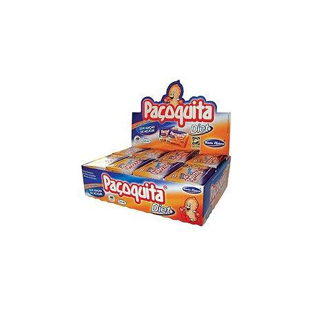 Paçoquita Diet Santa Helena Contendo 24 Unidades De 22g Cada