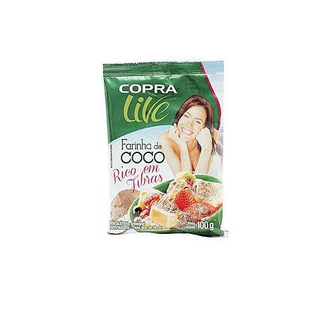 Farinha De Coco Copra Live 100g