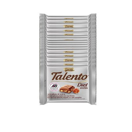 Talento Diet Mini Contendo 15 Unidades De 25g Cada