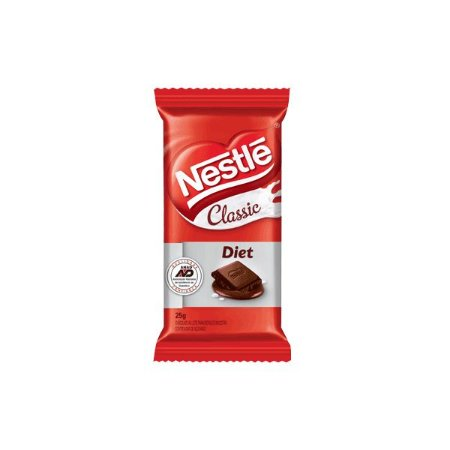 Chocolate Nestle Classic Diet Ao Leite 25g