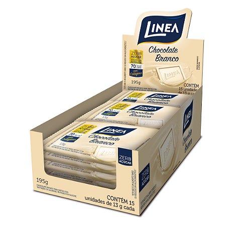 Chocolate Branco Diet Linea Contendo 15 Unidades De 13g Cada