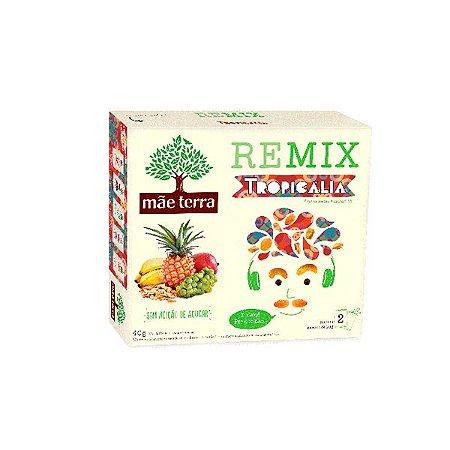 Remix Mãe Terra Tropicália Contendo 2 Pacotes De 20g Cada