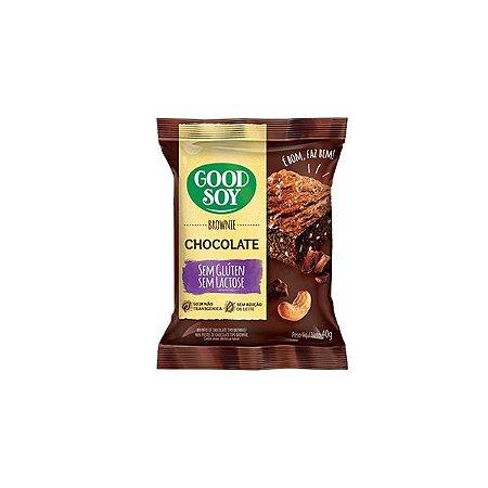 Brownie Chocolate Sem Glúten E Sem Lactose Good Soy 40g