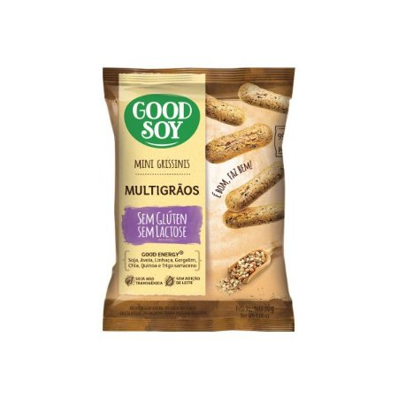 Mini Grissinis Good Soy Sem Glúten Multigrãos 30g