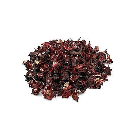 Chá de Hibiscus (Hibisco) em Flor 250g Jandira