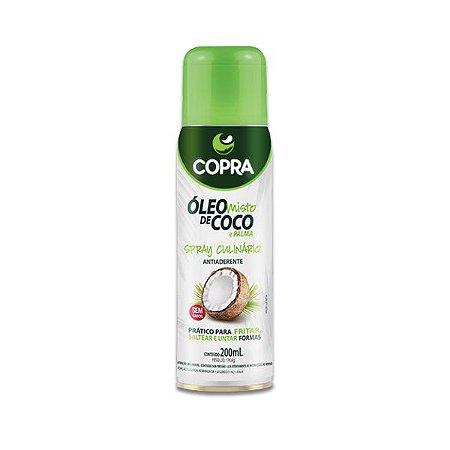 Óleo De Coco E Palma Spray Antiaderente Culinário 200ml