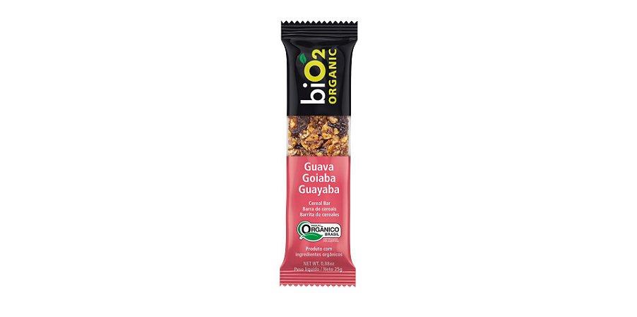 Barra De Cereais Goiaba Bio2 Organic 25g