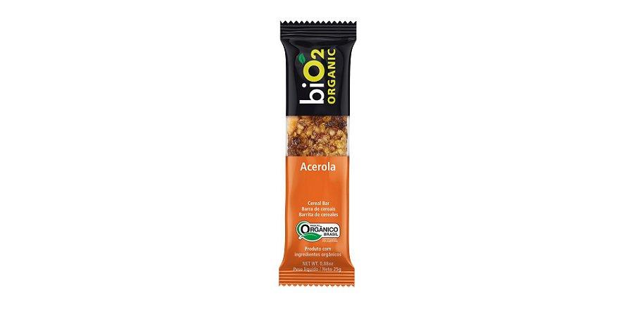 Barra De Cereais Acerola Bio2 Organic 25g
