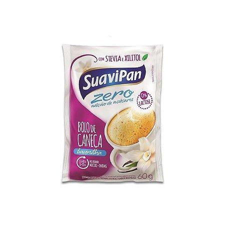 73469e3c7 Bolo De Caneca Baunilha Zero Açúcar E Zero Lactose Suavipan 60g ...