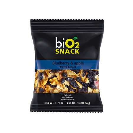 SNACK BLUEBERRY E MAÇÃ BIO2 50g