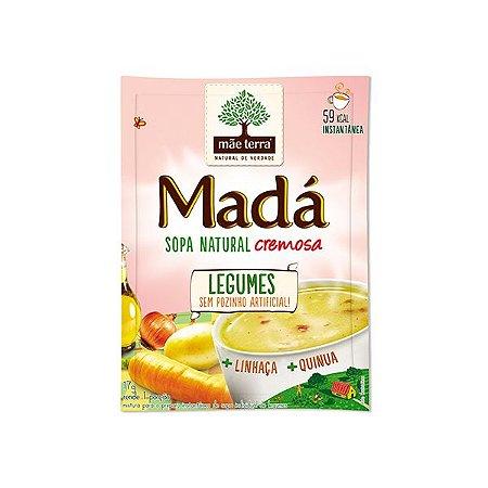 Sopa Natural Cremosa Legumes Mãe Terra Madá 17g - 1 Porção