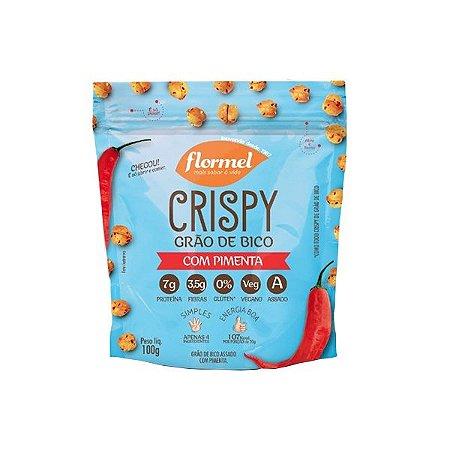 Grão De Bico Crispy Flormel Com Pimenta 100g