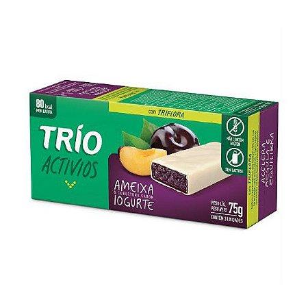 Trio Activios Ameixa & Iogurte Contendo 3 Unidades De 25g Cada