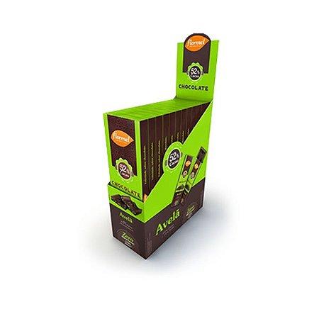 Chocolate Flormel 52% Cacau E Avelã Contendo 12 Barras De 20g Cada