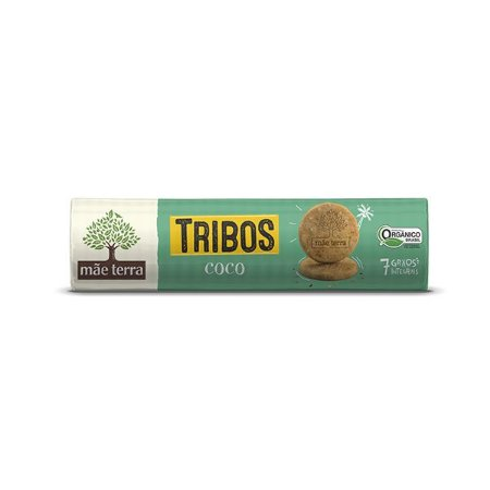 BISCOITO MÃE TERRA TRIBOS COCO 130g