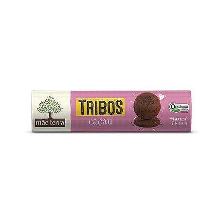 BISCOITO MÃE TERRA TRIBOS CACAU 130g