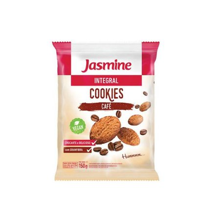 COOKIES INTEGRAIS CAFÉ JASMINE 150g