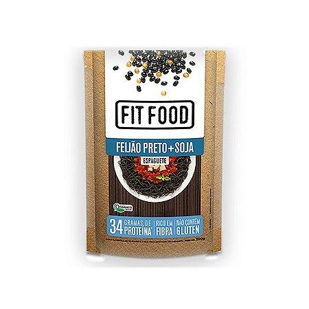 Espaguete Funcional Orgânico De Feijão Preto + Soja Fitfood 200g