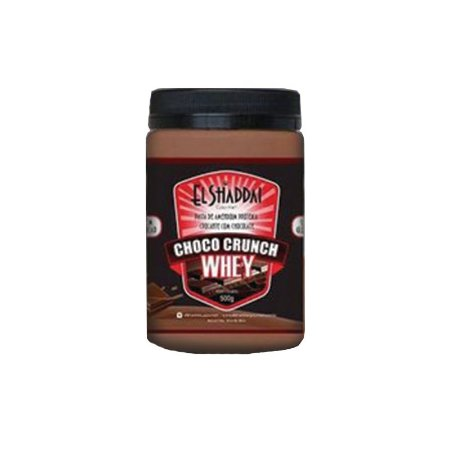Pasta De Amendoim Whey Choco Crunch El Shaddai 500g