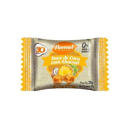 Doce De Coco Com Abacaxi Zero Açúcar Flormel Unidade