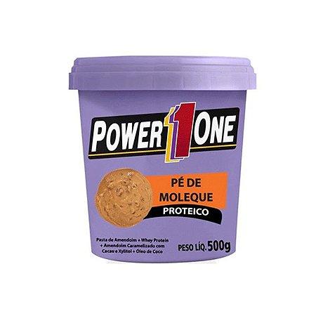 Pasta De Amendoim Pé De Moleque Proteico Power One 500g