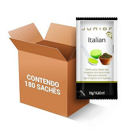 Molho Para Salada Italian Junior Contendo 180 Sachês De 18g Cada