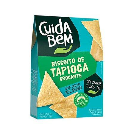 Biscoito De Tapioca Crocante Cuida Bem 50g