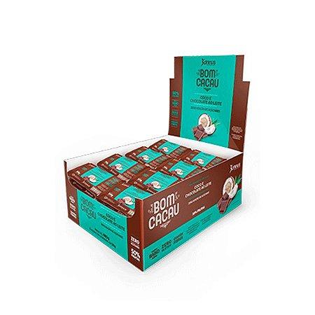 Bomcacau Coco E Chocolate Ao Leite Contendo 24 Unidades De 20g Cada