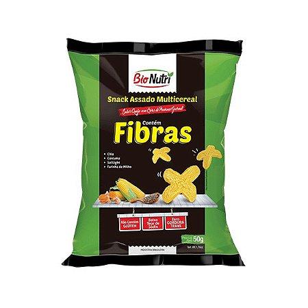 Snack Bionutri Multicereal Fibras Sabor Queijo Com Ervas De Provance 50g