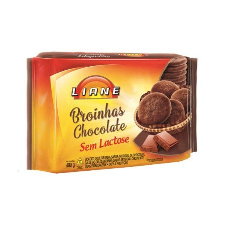 Broinhas De Chocolate Sem Lactose Liane 400g