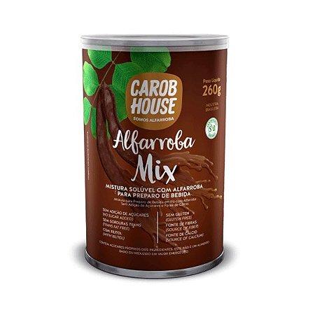 Alfarroba Mix - Mistura Solúvel Com Alfarroba Para Preparo De Bebida Carob House 260g