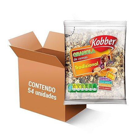 GRANOLA TRADICIONAL KOBBER CONTENDO 54 UNIDADES DE 30G CADA