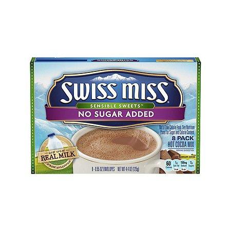 Achocolatado Zero Açúcar Swiss Miss Contendo 8 Sachês